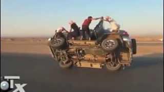 dubai stunt car