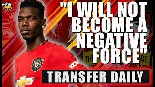 MASSIVE Pogba News! Paul Pogba tells Manchester United that he is fully committed to the club!