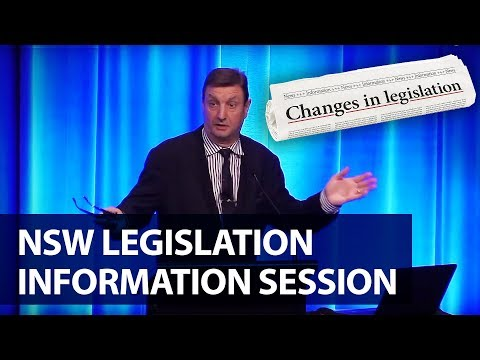 NSW legislation information session | PICA Group