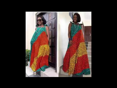 2018 African Print Dresses Styles For African Queen