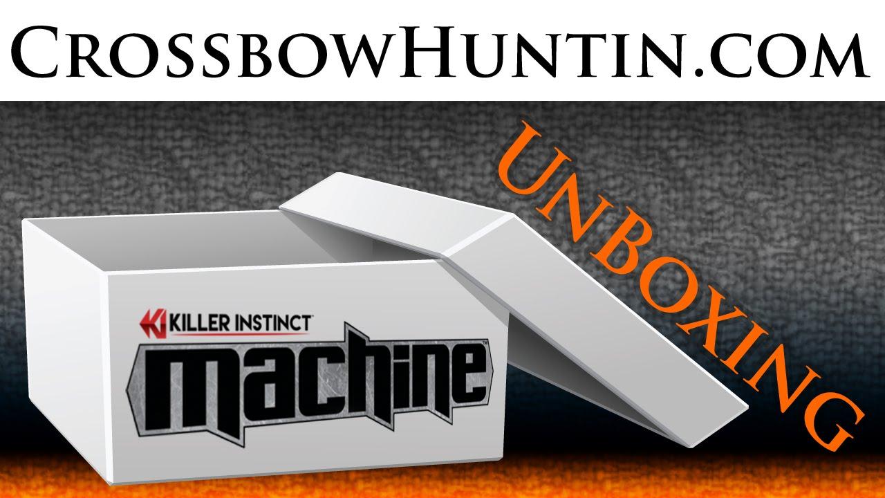 Killer Instinct Machine Crossbow Unboxing Youtube