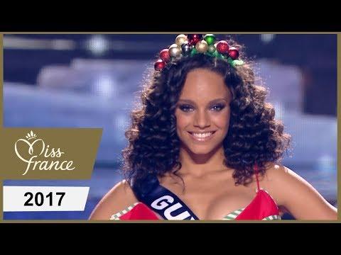 Miss France 2017 - Les Miss En Maillot De Bain