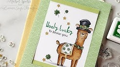 Wooly Lucky Sliding Window Interactive Card
