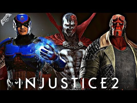 Injustice 2 - Hellboy Gameplay and Fighter Pack 3 Trailer Coming Soon?