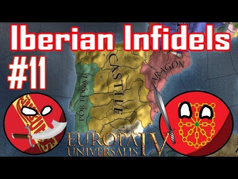 EU4 - FIGHTING FRANCE - Iberian Infidels - Episode 11