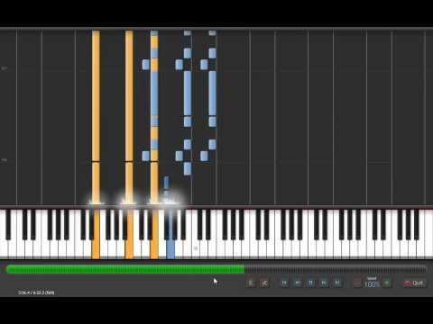 How To Play Fade To Black - Metallica Piano : Synthesia
