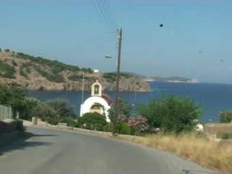 The beaches of Patmos, Greece