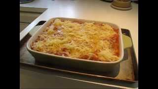 Homemade Manicotti-cannelloni Recipe