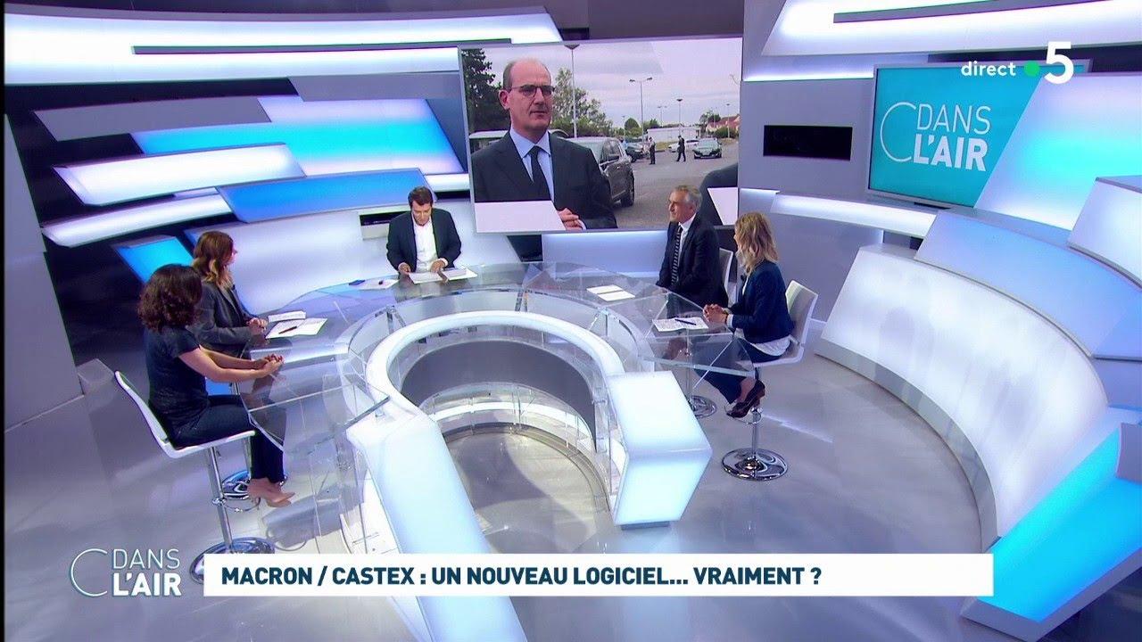 Macron Castex Un Nouveau Logiciel Vraiment Cdanslair 04 07 20 Youtube