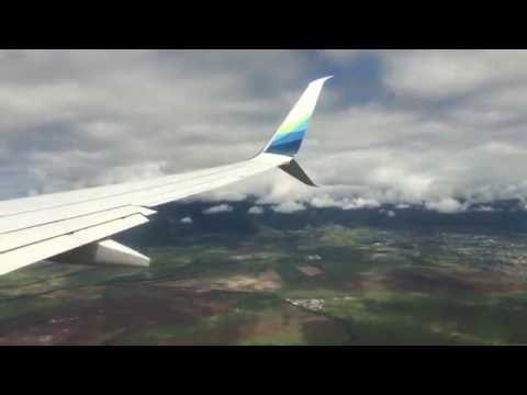 Landing in Kahului Airport in Maui Hawaii