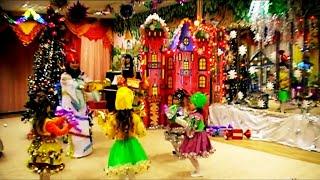 Новогодний танец сладостей с госпожой Конфеткой.