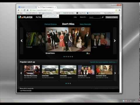 Watch ITV Player Abroad