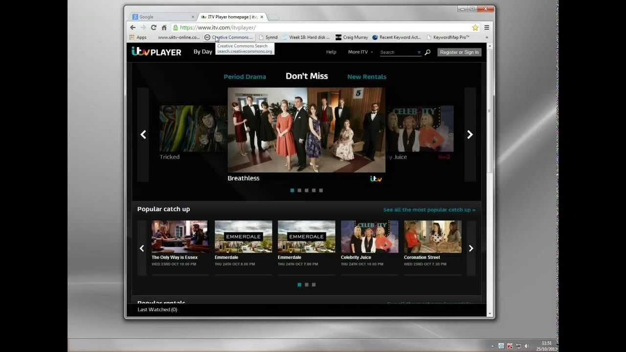 Using ITV Player Abroad