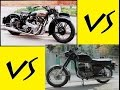 ROYAL ENFIELD Vs JAWA YEZDI Engine Sound ? 1960's Motorcycle Video HD