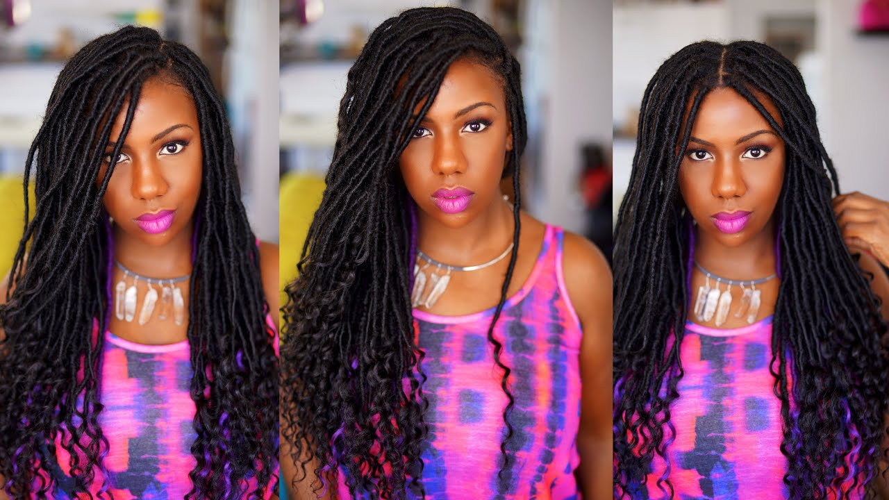 Image result for goddess locs hair