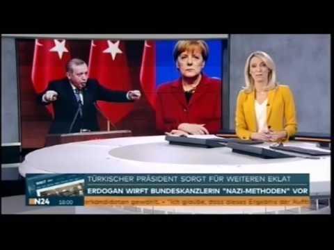 Peinliche Merkel, Trump lässt Merkel links liegen, Erdogan kritisiert Merkel als Nazi