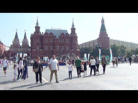 Куда пойти в Москве Красная площадь Фестиваль Спасская башня