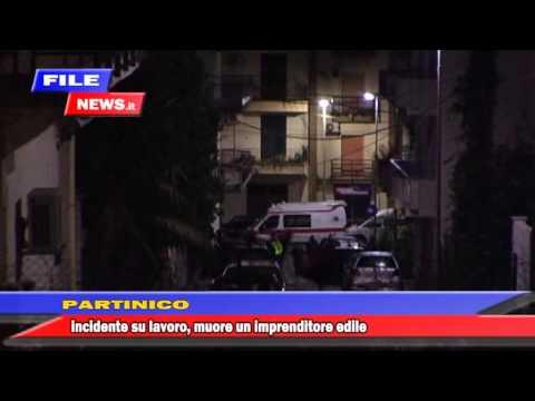 INCIDENTE MORTALE SU LAVORO A PARTINICO