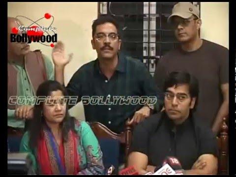 Bollywood Celebs at Press Conference of Kiku Sharda's  Arrest