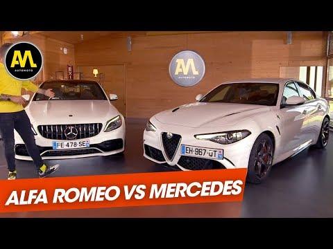 Alfa Romeo Giulia Q vs Mercedes AMG C63 S