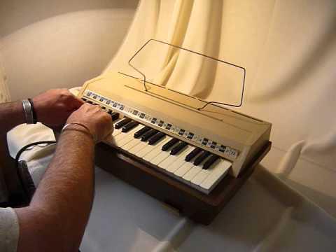 Emenee Audion Keyboard Model 1800 Youtube