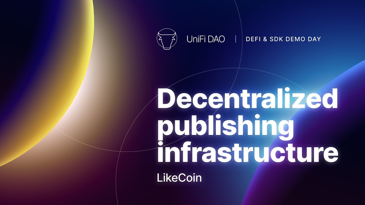 Decentralized Publishing Infrastructure