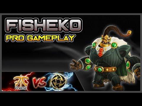 Fisheko Bomb King Gameplay POV   Fnatic vs Ninjas In Pyjamas   Paladins Premier League Europe