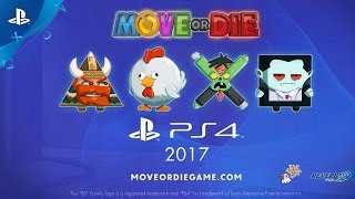 Move or Die - PlayStation Experience 2016: Announcement Teaser Trailer | PS4