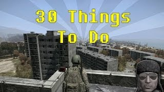 Repeat youtube video 30 Things To Do in DayZ when you're bored