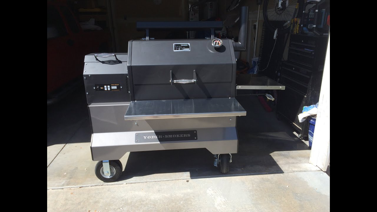 Yoder YS640 pellet grill overview