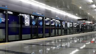[4K] 공항철도 지하구간을 통과하는 KTX, KTX-산천