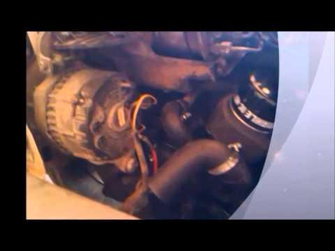 renault express diesel cambiar manguito de agua tutorial mecanica