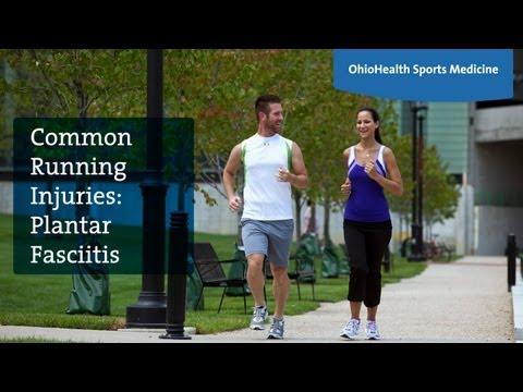 Common Running Injuries: Plantar Fasciitis