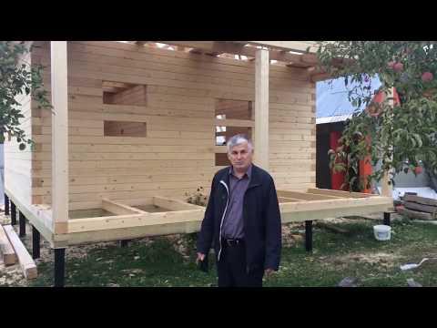 Отзыв о брусовом доме под усадку из Костромы - ЭкоХат