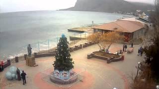 Коктебель Веб Камера Онлайн(Как выглядит Коктебель веб камера онлайн показывает море, часть пляжа на курорте. Возможность узнать погод..., 2014-03-07T13:08:18.000Z)