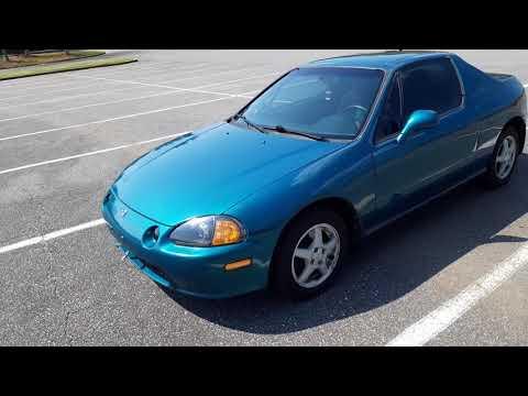 1995 Honda Del Sol SI Auto Paradise Blue/Green Pearl 139k retrofit
