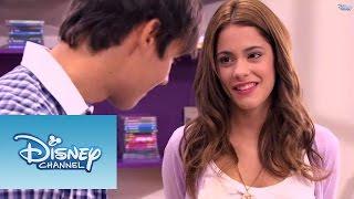 """Violetta: Momento musical - Violetta e Leon cantam """"Voy por ti"""""""