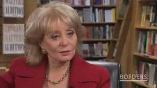 """BARBARA WALTERS Talks about her memoir, """"Audition"""""""