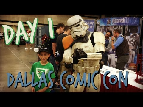 STORM TROOPER HANGOUT | DALLAS FAN EXPO | COMIC CON DAY 1