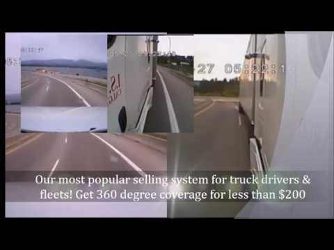 Falcon Eye Dash Cam 1080P 4 Cam Product Video & More