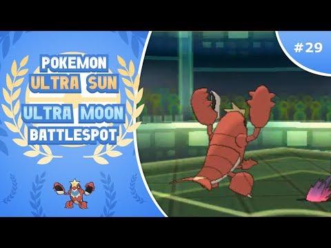 """Rogue Crawdaunt"" Pokemon Ultra Sun & Moon Singles Battle Spot Episode 29"