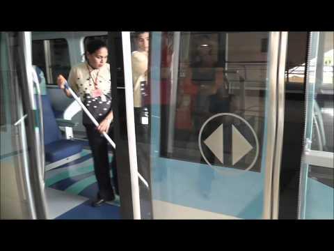 Dubai Metro - Impressions of the Red Line [1080p]