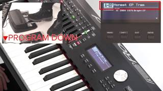 """""""Using Pedals"""" Roland RD-2000 #09"""