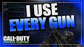 G3 - MODERN WARFARE REMASTERED I USE EVERY GUN! By Delta Warfare! (MWR Gameplay/Commentary) thumbnail