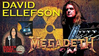 DAVID ELLEFSON - Where Are Former MEGADETH Members Now? Books, Movies, Grammys, Coffee & more