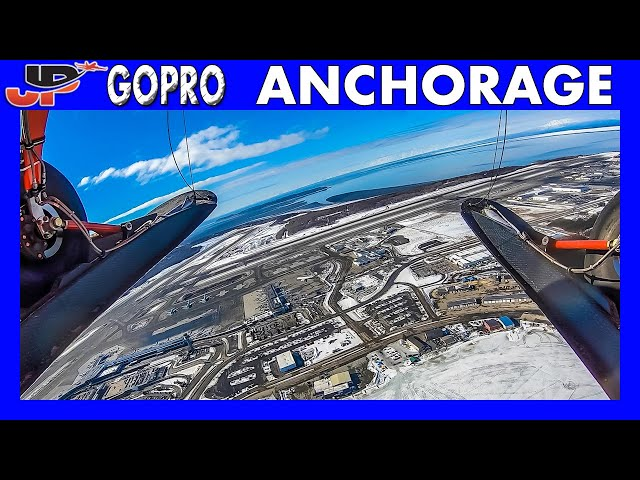 Anchorage Airport from the Air | External GoPro View
