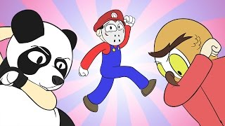 Vanoss Gaming YAHOO Animated - Panda, Delirious, Wildcat (GMOD Funny Moments)