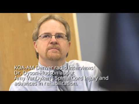 June 19, 2014 - KOA-AM Denver radio interviews Dr. Dyson-Hudson about Amy VanDyken