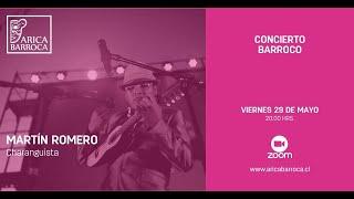 Conciertos Barrocos - Martín Romero