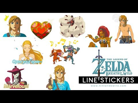 Nintendo's next Line sticker pack features Breath of the Wild